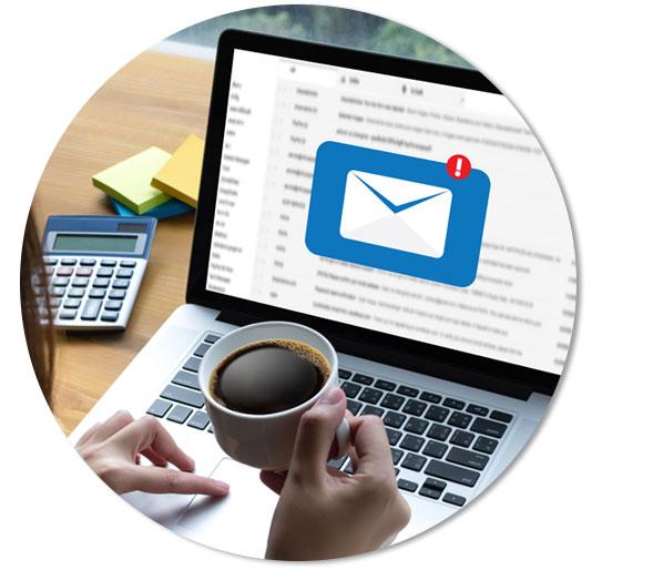 Campaña de correo electrónico y newsletter